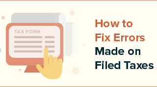 Errors Made on Filed Taxes