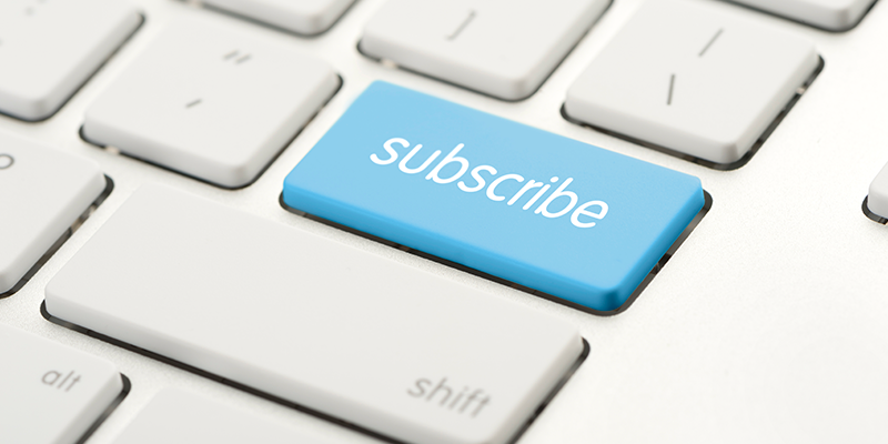 Diversifying to a subscription model to brace for a recessing economy
